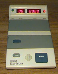 This is the picture of a vote counting machine