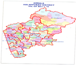 Map containing lac of MALAPPURAM district