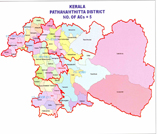 Map containing lac of PATHANAMTHITTA district